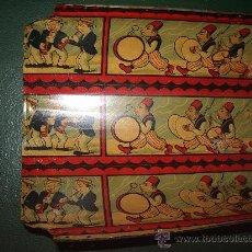 Juguetes antiguos de hojalata: CHAPA LITOGRAFIADA MUSICOS.. Lote 38992960