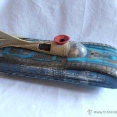 Juguetes antiguos de hojalata: VEHICULO LUNAR ESPACIAL HOJALATA MARCA PERION. Lote 39649814