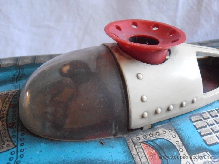 Juguetes antiguos de hojalata: VEHICULO LUNAR ESPACIAL HOJALATA MARCA PERION - Foto 5 - 39649814