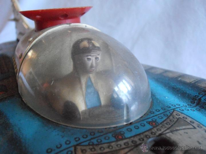 Juguetes antiguos de hojalata: VEHICULO LUNAR ESPACIAL HOJALATA MARCA PERION - Foto 6 - 39649814