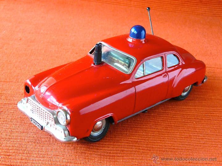 SCHUCO ELECTRO ALARM - CAR 5340 (Juguetes - Juguetes Antiguos de Hojalata Extranjeros)