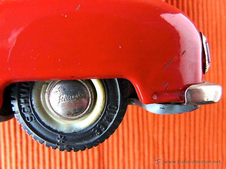 Juguetes antiguos de hojalata: SCHUCO ELECTRO ALARM - CAR 5340 - Foto 9 - 40462711