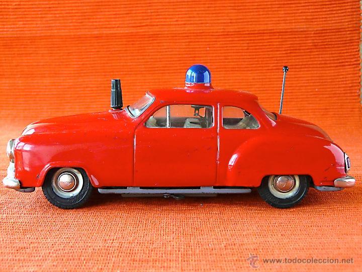 Juguetes antiguos de hojalata: SCHUCO ELECTRO ALARM - CAR 5340 - Foto 15 - 40462711