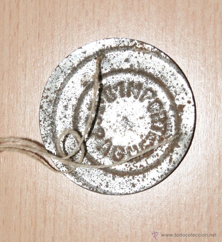 Juguetes antiguos de hojalata: Antigua Balanza de hojalata IMPORTE ESPAGNE Año 1930 - Foto 4 - 40827965