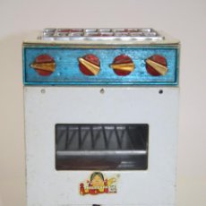 Juguetes antiguos de hojalata: COCINA EN HOJALATA - JUGUETES IBI S.L. - AÑOS 40/50. Lote 41337594