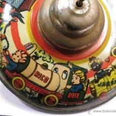 Juguetes antiguos de hojalata - Peonza hojalata - 41347509
