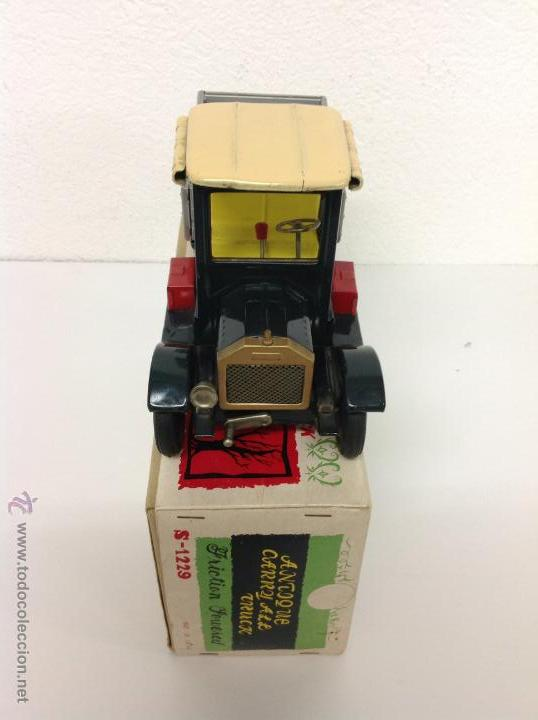 Juguetes antiguos de hojalata: Camion made in Japan - Foto 2 - 41677155