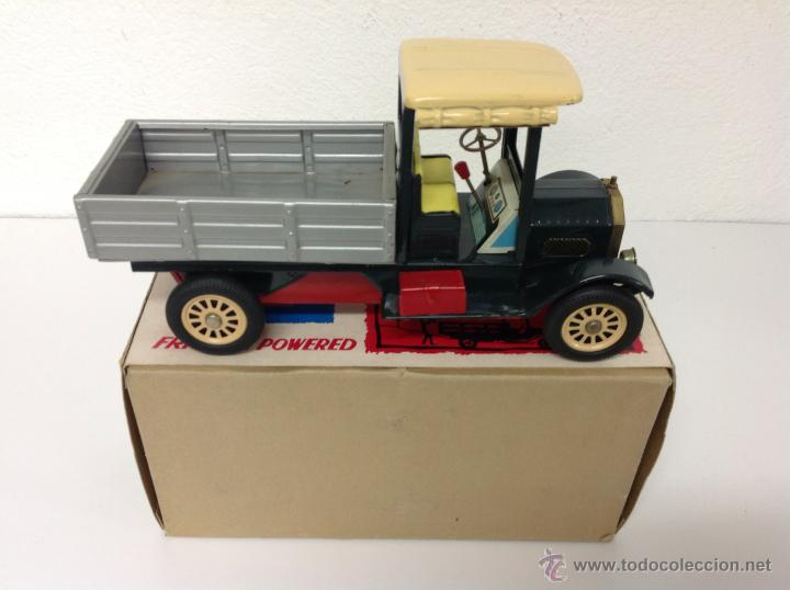 Juguetes antiguos de hojalata: Camion made in Japan - Foto 3 - 41677155
