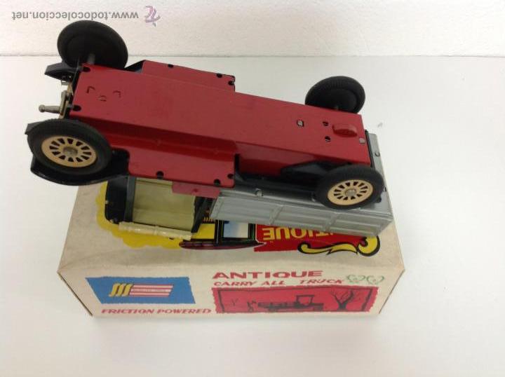 Juguetes antiguos de hojalata: Camion made in Japan - Foto 5 - 41677155