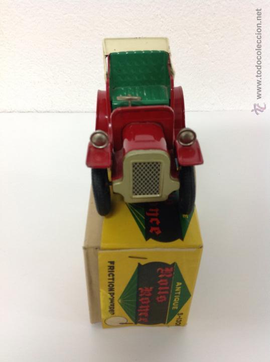 Juguetes antiguos de hojalata: Coche de hojalata made in Japan - Foto 2 - 41677347