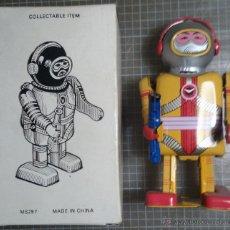 Juguetes antiguos de hojalata: ROBOT DE HOJALATA 1. Lote 42251023
