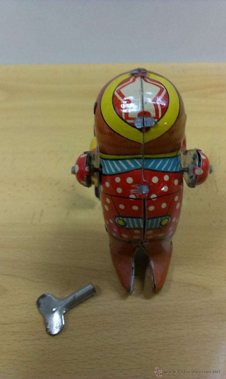 Juguetes antiguos de hojalata: BHALA MANUS JUGUETE HOJALATA A CUERDA - Foto 3 - 42490650