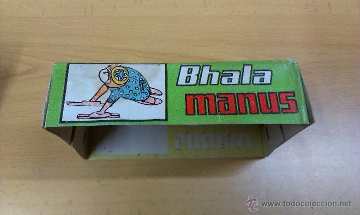 Juguetes antiguos de hojalata: BHALA MANUS JUGUETE HOJALATA A CUERDA - Foto 5 - 42490650