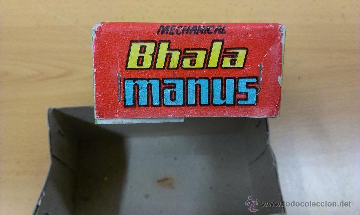 Juguetes antiguos de hojalata: BHALA MANUS JUGUETE HOJALATA A CUERDA - Foto 8 - 42490650