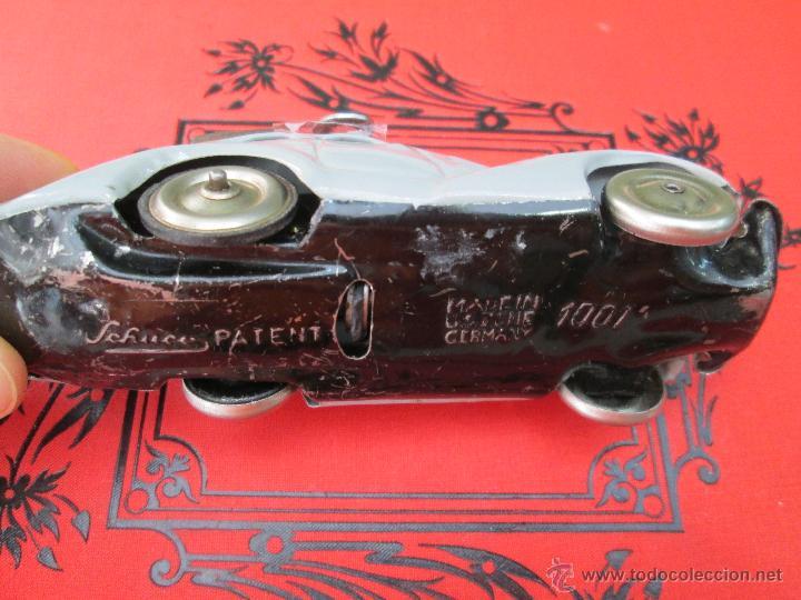 Juguetes antiguos de hojalata: ANTIGUO Y ORIGINAL COCHE ALEMÁN DE LATA SCHUCO 1001 Made in US Zone GERMANY - AÑOS 40 - 50 - Foto 10 - 43658085