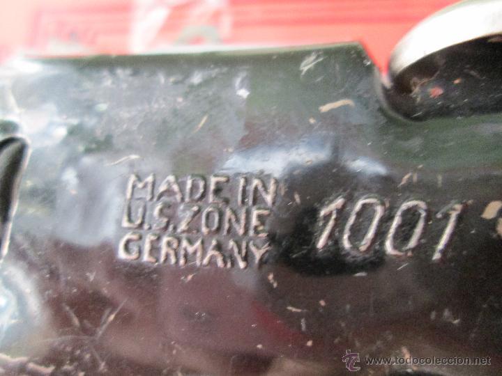 Juguetes antiguos de hojalata: ANTIGUO Y ORIGINAL COCHE ALEMÁN DE LATA SCHUCO 1001 Made in US Zone GERMANY - AÑOS 40 - 50 - Foto 17 - 43658085