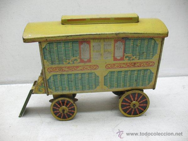 Chad Valley Antiguo Juguete De Hojalata Carro Comprar Juguetes