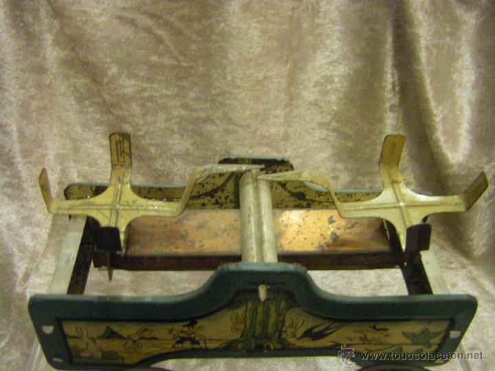 Juguetes antiguos de hojalata: Juguete Balanza San Alberto Industrial Argentina de Hojalata Epoca Matarazzo años 30 - Foto 11 - 43962272