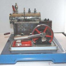 Juguetes antiguos de hojalata: PLANTA VAPOR VIVO. WILESCO D8. STACIONARY ENGINE.. Lote 43998093