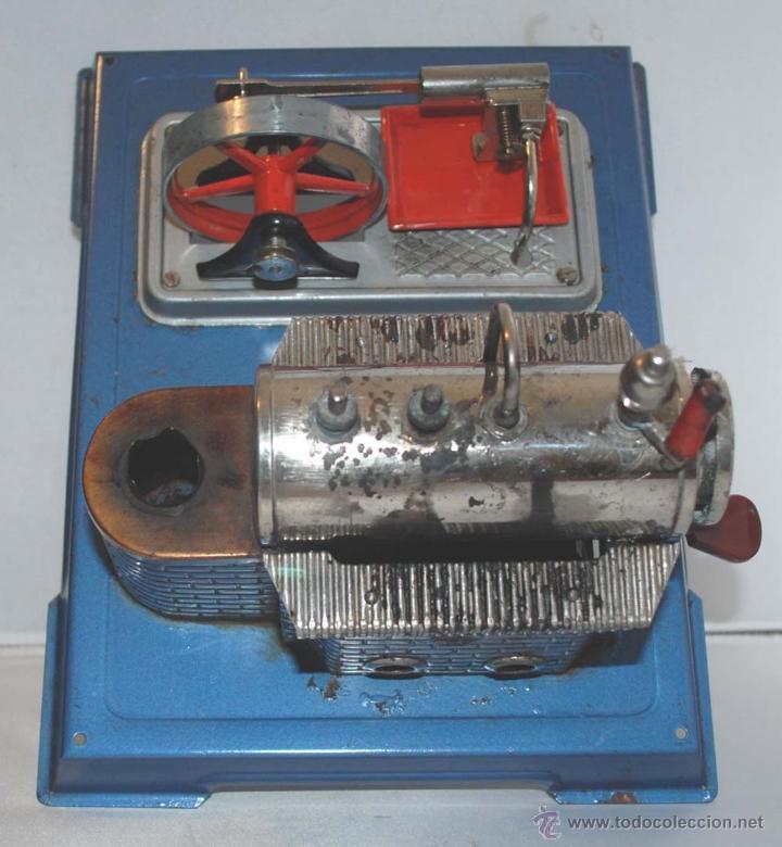 Juguetes antiguos de hojalata: PLANTA VAPOR VIVO. WILESCO D8. STACIONARY ENGINE. - Foto 5 - 43998093