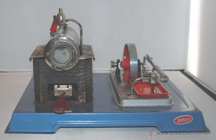 Juguetes antiguos de hojalata: PLANTA VAPOR VIVO. WILESCO D8. STACIONARY ENGINE. - Foto 6 - 43998093