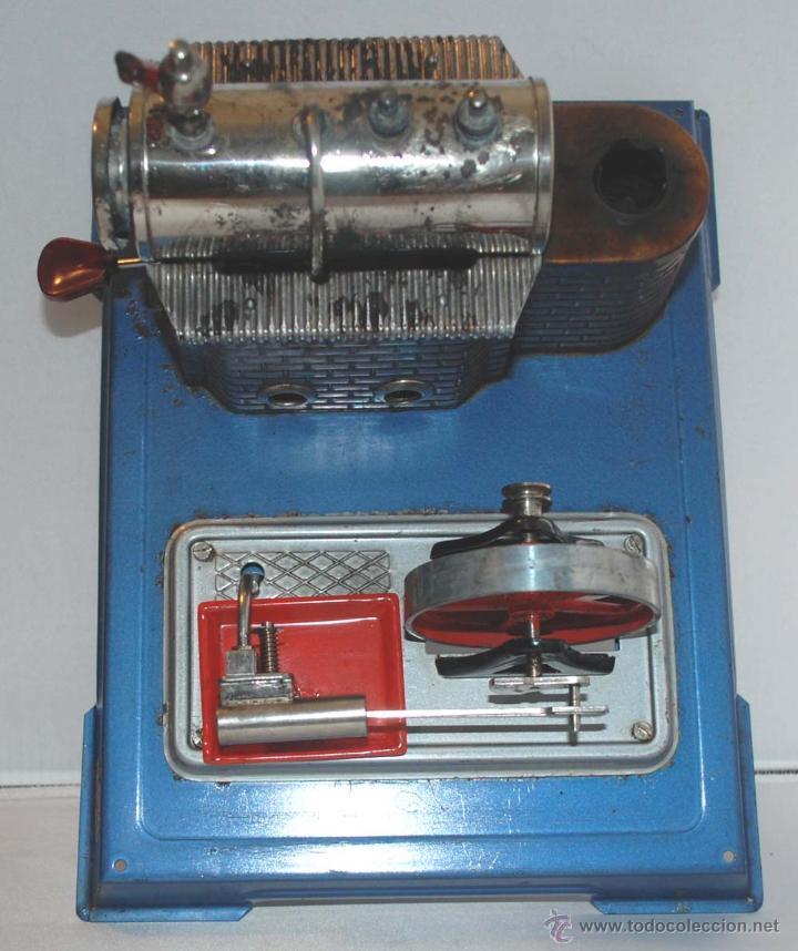 Juguetes antiguos de hojalata: PLANTA VAPOR VIVO. WILESCO D8. STACIONARY ENGINE. - Foto 11 - 43998093