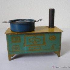 Juguetes antiguos de hojalata: COCINA DE HOJALATA SERIGRAFIADA R.S.A . RICO AÑOS 30. Lote 44210195
