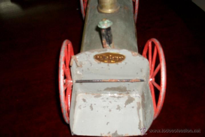 Juguetes antiguos de hojalata: ANTIGUA LOCOMOTORA- SIGLO XIX - Foto 5 - 44367551