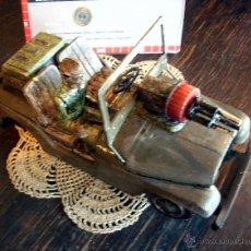 Juguetes antiguos de hojalata: ANTIGUO JEEP NOMURA USA ARMY 6607 - JAPÓN 1960 - PARA RESTAURAR O REPUESTOS. Lote 44380694