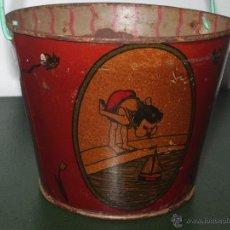 Juguetes antiguos de hojalata: POZALITO DE HOJALATA.. Lote 44456079
