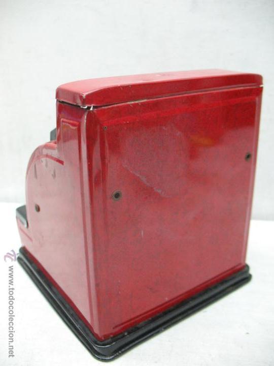 Juguetes antiguos de hojalata: Aster - Caja registradora fabricada en Japón - Foto 7 - 44877983