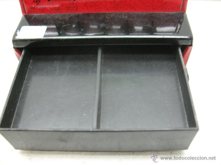 Juguetes antiguos de hojalata: Aster - Caja registradora fabricada en Japón - Foto 8 - 44877983