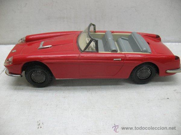 Juguetes antiguos de hojalata: Jouets Mont-Blanc Ref: 611-2 - Coche Ferrari Auto Grand Sport fabricado en Francia - Foto 3 - 44879968