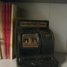 Juguetes antiguos de hojalata: CAJA REGISTRADORA. Lote 45199203