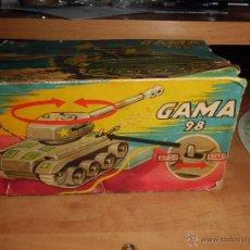 Juguetes antiguos de hojalata: TANQUE GAMA 984 LEER DESCRIPCION VER FOTOS. Lote 45214598