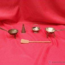 Juguetes antiguos de hojalata: LOTE JUGUETES HOJALATA,CHAPA,ESPAÑOLES. Lote 45519408