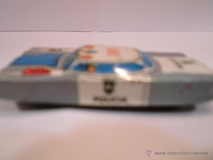 Juguetes antiguos de hojalata: COCHE DE LATON SERIGRAFIADO - COCHE POLICIA 091 - 6x3 cm - Foto 3 - 45678538