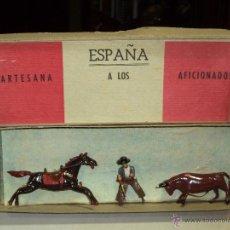 Juguetes antiguos de hojalata: 10 CAJAS DE RAJONEADORES PLOMO. Lote 45867173