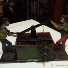 Juguetes antiguos de hojalata: JUEGO HOJALATA. Lote 45914028