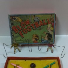 Juguetes antiguos de hojalata: BLOM FOOTBALL . MARCA KIM TOYS .MADE IN ENGLAND. Lote 45932645