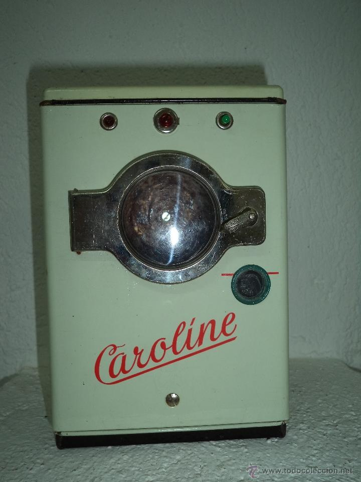 LAVADORA CAROLINE ALEMANA (Juguetes - Juguetes Antiguos de Hojalata Españoles)
