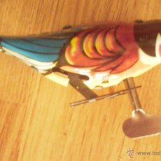 Juguetes antiguos de hojalata: PÁJARO PICOTEADOR. Lote 46563208