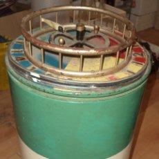 Altes Blechspielzeug - Barquillera Antigua Original,Espectacular,bonita,años 50,es la conserva ruleta,ver las fotos - 46585548