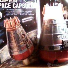 Juguetes antiguos de hojalata: ANTIGUO ROBOT SH CAPSULA GIGANTE NASA ASTRONAUTA HORIKAWA. Lote 53127973