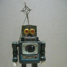 Juguetes antiguos de hojalata: DIFICIL ROBOT HOJA LATA GALAXY ALPES SPACEMAN TELEVISION JAPON ORIGINAL AÑOS 50 NO COPIA NO REPRO.. Lote 48835455