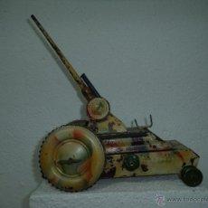 Juguetes antiguos de hojalata: TANQUE DE HOJALATA FERCHEN. Lote 47298337