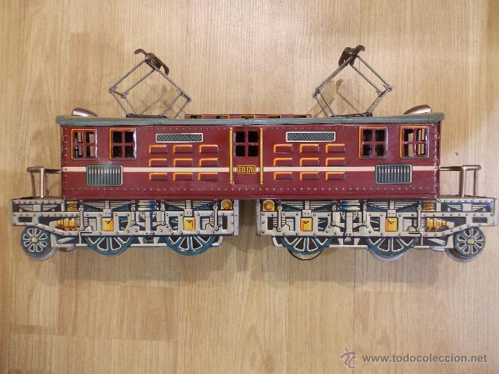 SILVER STREAK-TREN DE HOJALATA-FRICCION-MODERN TOYS-MADE IN JAPAN-JAPON (Juguetes - Juguetes Antiguos de Hojalata Extranjeros)