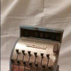 Juguetes antiguos de hojalata: ANTIGUO JUGUETE HOJALATA GRAN CAJA REGISTRADORA AMERICANA TOM THUMB MODELO GRANDE RARO ANTIGUA. Lote 47806002
