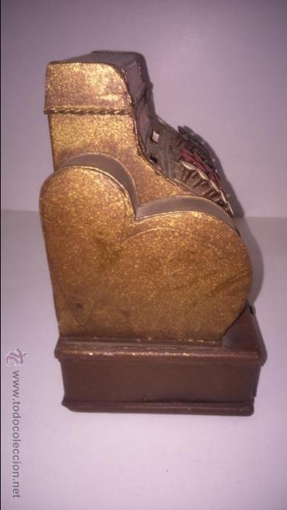 Juguetes antiguos de hojalata: REPLICA DE UNA CAJA REGISTRADORA ANTIGUA - Foto 3 - 48069253