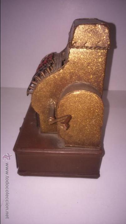 Juguetes antiguos de hojalata: REPLICA DE UNA CAJA REGISTRADORA ANTIGUA - Foto 5 - 48069253
